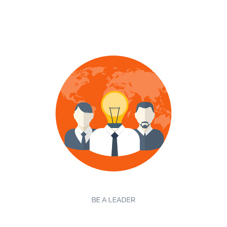 smart solutions: Vector illustration. Flat backgrounds set. New ideas, smart solutions. Business aims. Teamwork. Targeting.