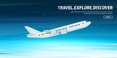 fly around: Plane. Travel and tourism. Airplane, aviation. Summer holidays, vacation.Landing. Flight, air travelling.