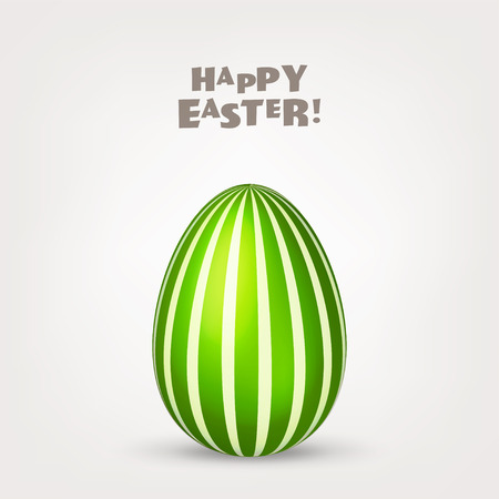 Easter egg. Spring. Holidays in April. Gift. Seasonal celebration.