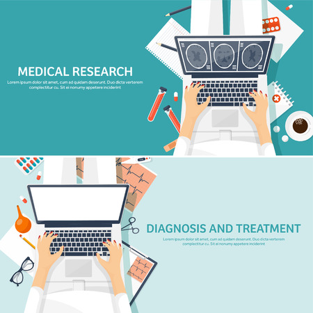 Medical flat background. Health care,first aid,research, cardiology. Medicine,study. Chemical engineering ,pharmacy.