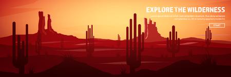 砂漠の旅ヘッダー。極端な観光と旅行します。性質に戻る.Sands.Exploring アフリカ。ホリゾント空、星の線です。山地、飛んでいる鳥。
