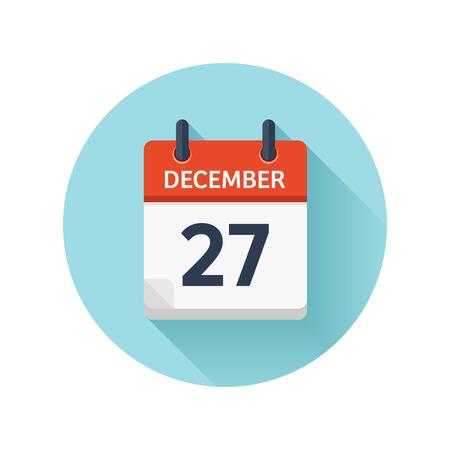 フラット毎日のカレンダー アイコン