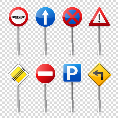 Road signs collection.