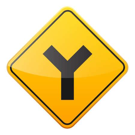 Verkeers verkeersbord Stock Illustratie
