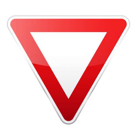 Rotes Schild der Straße. Standard-Bild - 89225809