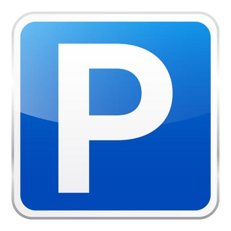 Blaues Zeichen der Straße auf weißem Hintergrund. Straßenverkehrskontrolle. Spurverwendung. Vorschriftzeichen. Straße. Standard-Bild - 89268713