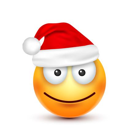 Kerstmuts en smiley