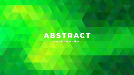 Triangle polygonal abstract background. Colorful gradient design. Low poly shape banner. Vector illustration. Standard-Bild - 121501851