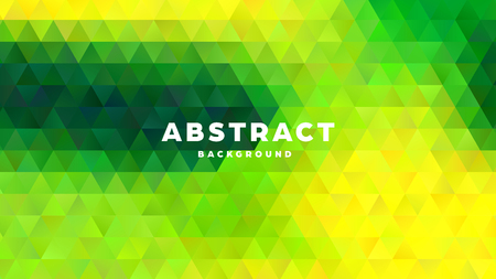 Triangle polygonal abstract background. Colorful gradient design. Low poly shape banner. Vector illustration. Standard-Bild - 121501853