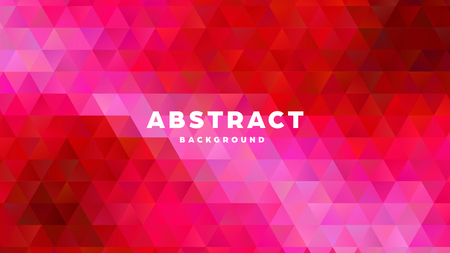 Triangle polygonal abstract background. Colorful gradient design. Low poly shape banner. Vector illustration. Standard-Bild - 121501855