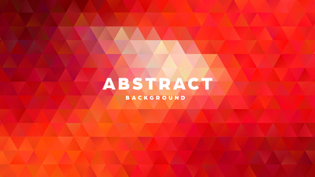 Triangle polygonal abstract background. Colorful gradient design. Low poly shape banner. Vector illustration. Standard-Bild - 121501857