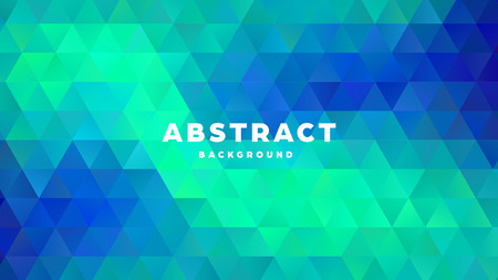Triangle polygonal abstract background. Colorful gradient design. Low poly shape banner. Vector illustration. Standard-Bild - 121501859
