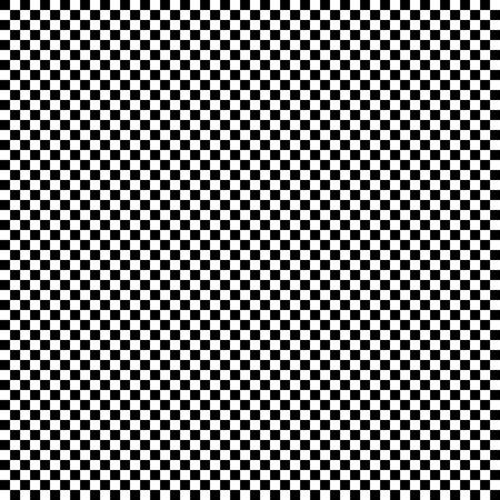 Karierter geometrischer Vektorhintergrund mit Schwarzweiss-Fliese. Schachbrett. Rennflaggenmuster, Textur. Vektorgrafik