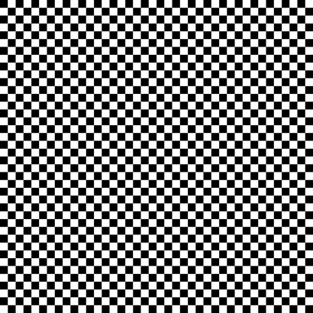 Checkered geometric vector background with black and white tile. Chess board. Racing flag pattern, texture. 向量圖像