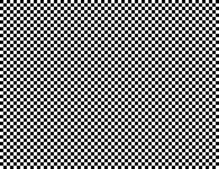 Checkered geometric vector background with black and white tile. Chess board. Racing flag pattern, texture. Vektorgrafik
