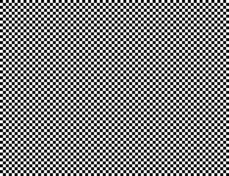 Checkered geometric vector background with black and white tile. Chess board. Racing flag pattern, texture. Ilustrace