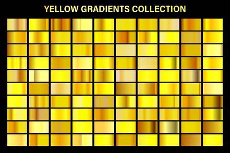 Golden, yellow glossy gradient, gold metal foil texture.