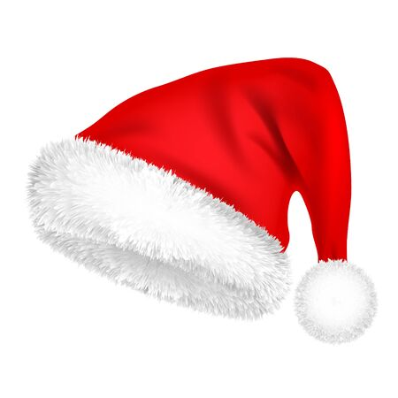 Christmas Santa Claus Hat With Fur.