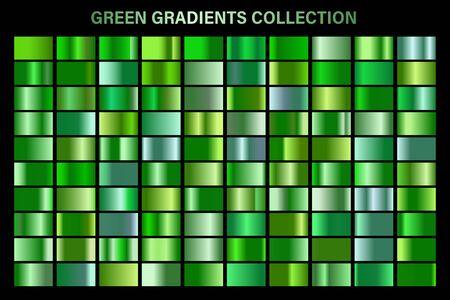 Green, emerald glossy gradient, metal foil texture. Reklamní fotografie - 129391586