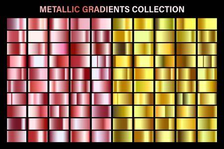Or rose et or, dégradé jaune brillant, texture de feuille de métal.