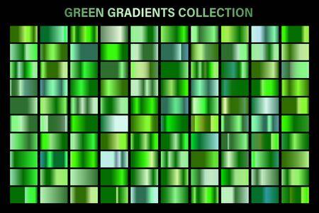 Green, emerald glossy gradient, metal foil texture. Foto de archivo - 129391363