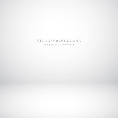 Empty gray studio abstract background with spotlight effect. Product showcase backdrop Standard-Bild - 136710529