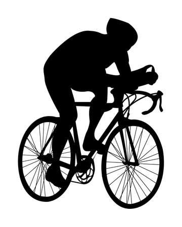 cyclist.vector Stock Vector - 5311107