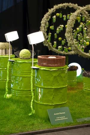 GHENT, BELGIUM - APRIL 23: The Ghent Floralies (de Gentse Floralien ) 34th edition of prestigious flower and plant exhibitions on April 17-25, 2010 in Ghent (Gent), Belgium.