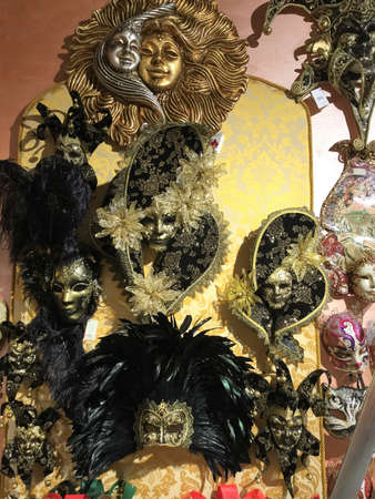 Venise, Italy, carnival window shop Stock Photo