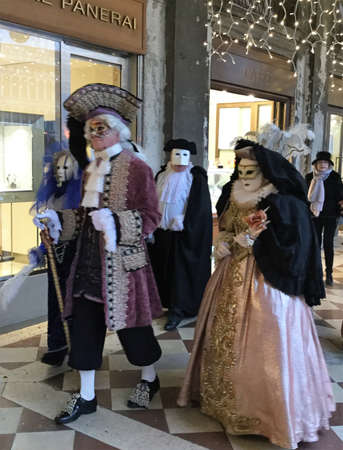 Venise, Italy, Carnival Editorial