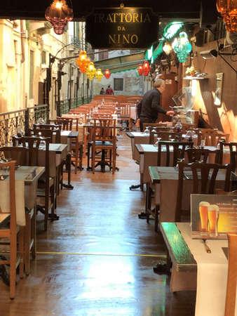 Venice, Italy outdoor cafe