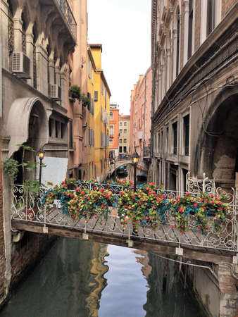 Venise, Italy, canaletto view Stock Photo