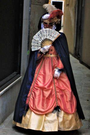 Women in 18th century costume Stock Photo