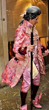Man in baron costume