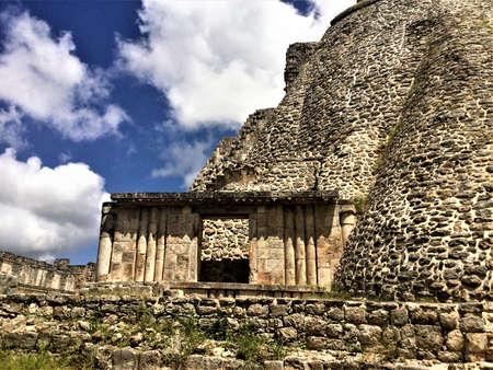 uxmal archeologic site, 멕시코