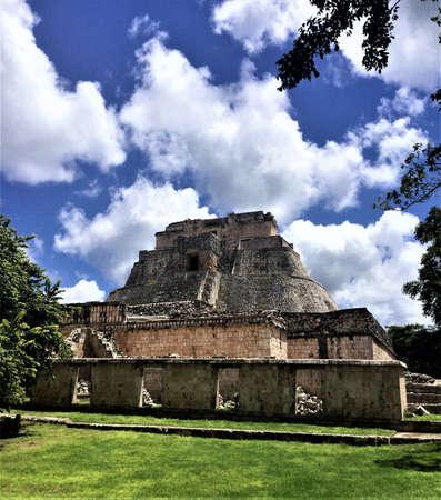 uxmal ruins, mexico Stok Fotoğraf - 87900430