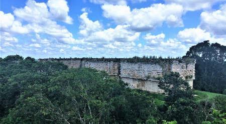 uxmal mayan site, mexico