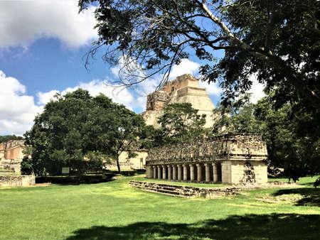 uxmal, mayan ruins, mexico