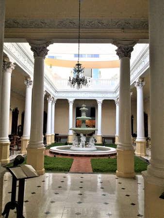 colonial building in merida, mexico