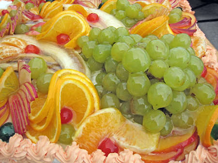 Assortment with fruits and color. Delicious...diet :)