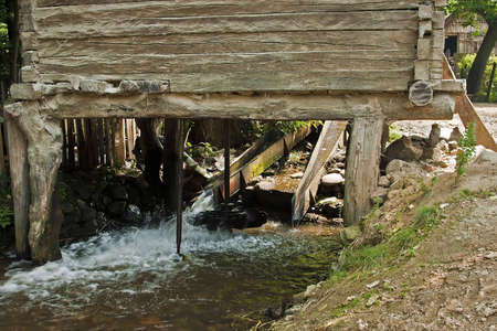 watermills: The watermills of Valea Rudariei, District Caras-Severin, Romania, are a testimony of the traditional technology in Banat.  A number of 22 mills along the water course, inside and outside the village, still exists. The mills are operated by a horizontal w