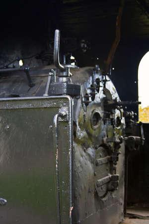 Steam Locomotives Museum  Resita, Romania  photo