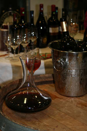 Romanian wine tasting and show a presentation  photo