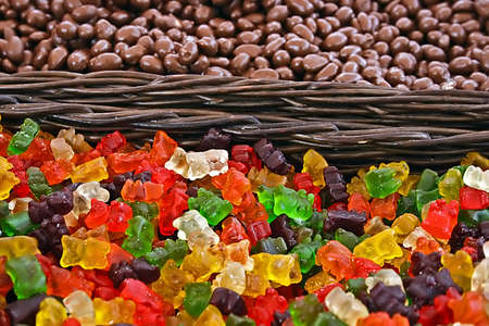 Sweets bulk specific western part of Romania