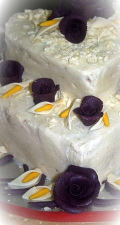 decoracion de pasteles: Pastel decoraci�n de un pastel y una exposici�n culinaria