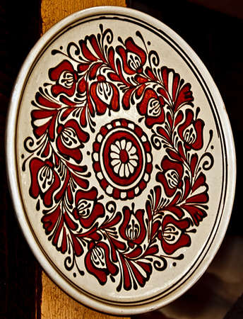 Romanian traditional pottery in the village Corund, Transylvania  photo