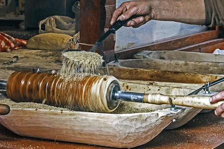 Ungarische Kurteskolac mit gemahlenen Nüssen, zubereitete traditionelle Standard-Bild - 18877798