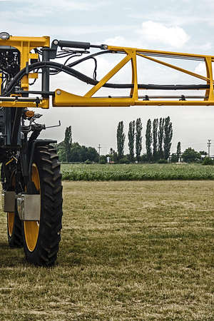 furrow: Equipment for agriculture, presented to an agricultural exhibition