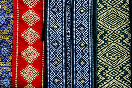 Wide belts, and embroidered Romanian traditional