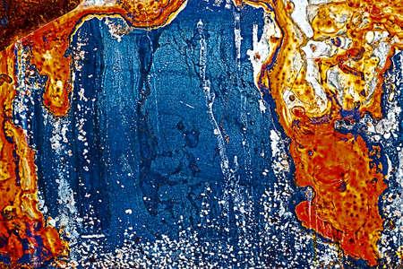 Grunge kleurrijke achtergrond in de vorm van weer thermische kaart.